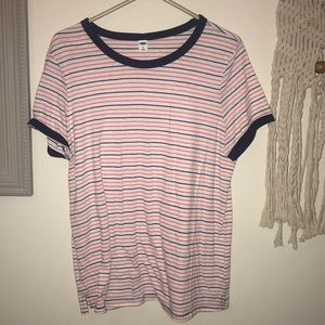 East stripped T!